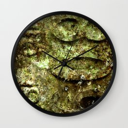 plate rust Wall Clock