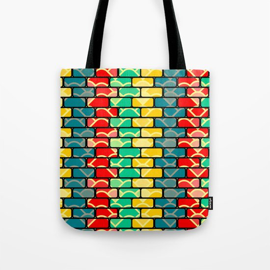 Colorful bricks Tote Bag
