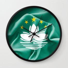Macau Flag Wall Clock