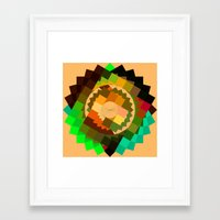 vertigo Framed Art Prints featuring Vertigo by eff.