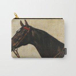 Vintage equestrian horse portrait Tasche