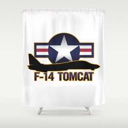 F-14 Tomcat Shower Curtain