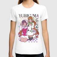 yaoi T-shirts featuring Yuri Kuma Arashi by Neo Crystal Tokyo