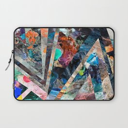 Triangle Forest Abstract Rainbow Laptop Sleeve