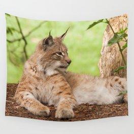 Lynx Lynx Wall Tapestry