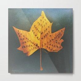 Leaf Tree Metal Print