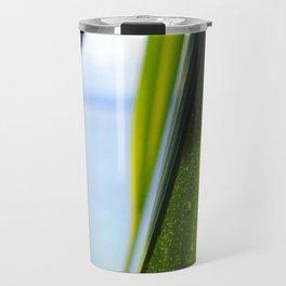 Noosa Leaf Texture Travel Mug
