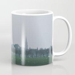 Snow on Meadows Park Coffee Mug