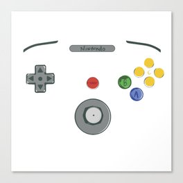 I love my N64! Canvas Print