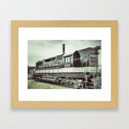 Savannah Railroad Framed Art Print