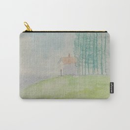 Hilltop house Carry-All Pouch