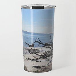 The Boney Trees on the Beach Travel Mug