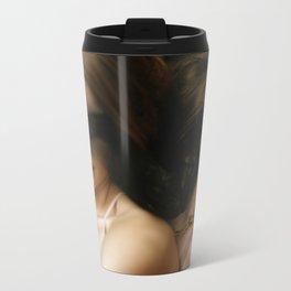 Painterly Metal Travel Mug