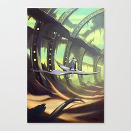 The Derelict Canvas Print