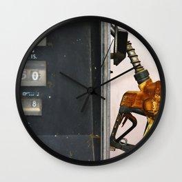 Gas Station Wall Clock