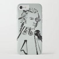 mozart iPhone & iPod Cases featuring Wolfgang Amadeus Mozart by bananabread