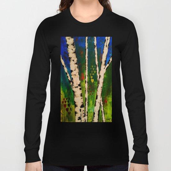 Blue Birch Long Sleeve T-shirt