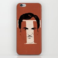 tarantino iPhone & iPod Skins featuring T is for Tarantino by Albert Blanchet