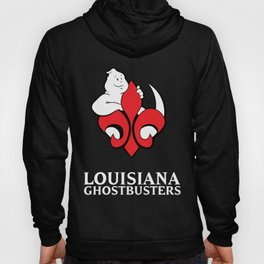 Louisiana Ghostbusters Logo with Black Background Hoody