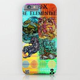 Mysticx & Magick: The Japanese Elemental Gods - Art Cover iPhone Case