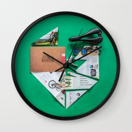 017: Donald Brun Bompton - 100 Hoopties Wall Clock