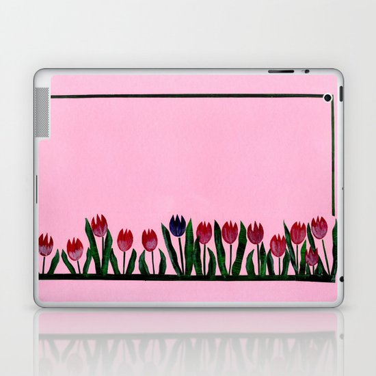 Tulipes Laptop & iPad Skin