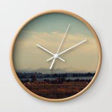 Cattle Yard Wall Clock