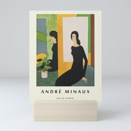 Poster-André Minaux-Jeu de miroir. Mini Art Print