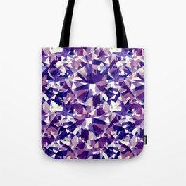 Purple Diamond Tote Bag