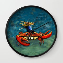 Crabynni Wall Clock