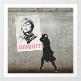 Bardot Art Print