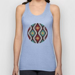 American Native Pattern No. 182 Unisex Tank Top