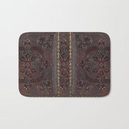 Ancient Leather Book Bath Mat