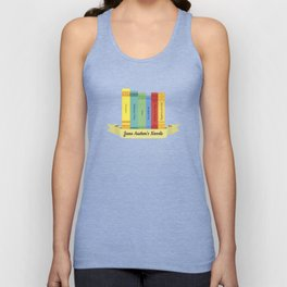 The Jane Austen's Novels III Unisex Tank Top