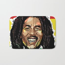 BobMarley Head Bath Mat