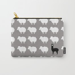 Don't be a sheep, Be a Llama Carry-All Pouch