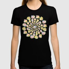 Beautiful Floral - floral, flowers, flower, rose T-shirt
