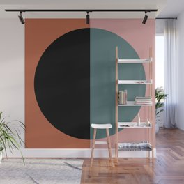 Color Block Abstract V Wall Mural