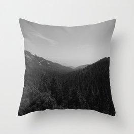 Sequoia National Park X Throw Pillow