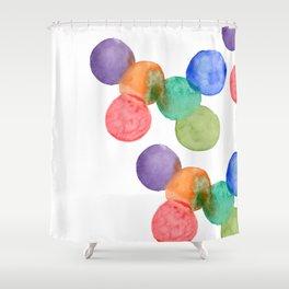 Circles Shower Curtain