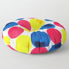 Circle of Colors Floor Pillow