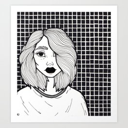 Just Another Angsty Teen Art Print