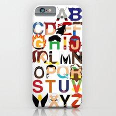 Marvelphabet Heroes Slim Case iPhone 6s