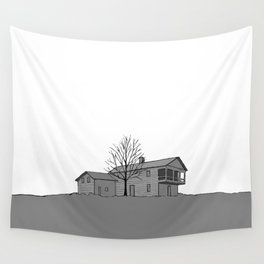 Button's Inn Wall Tapestry