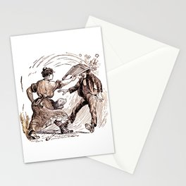 The Nut Cracker Stationery Cards