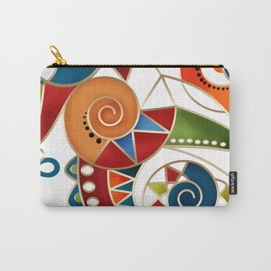 The art design. Carousel. Carry-All Pouch
