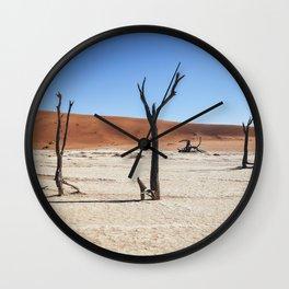 DeadVlei Barren Landscape Wall Clock
