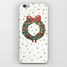 Christmas Wreath II iPhone & iPod Skin
