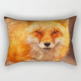 Mr Fox Rectangular Pillow