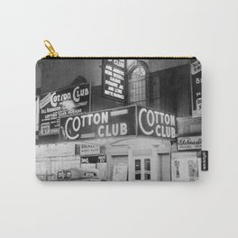 African American Harlem Renaissance Cotton Club Jazz Age Photograph Carry-All Pouch